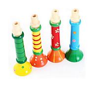 bunten Holzfarbe Instrument kleines Horn