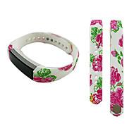 Smart Strap Bracelet Colorful Printing Silicone Bracelet For Fitbit Alta(06)