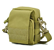5 L Shoulder Bag Multifunctional Army Green Nylon