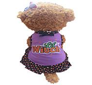 Hunde Kleider Purpur Hundekleidung Sommer Sterne / Herzen