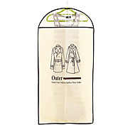 9997 gruesos overclothes polvo chaqueta objeto ropa cubierta de la bolsa a prueba de polvo traje de la cubierta que cuelgan por mayor