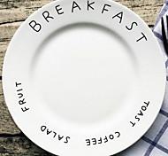Simple Letter Ceramic Disc