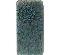 TPU + IMD Material Multi-Leaf Flower Pattern Phone Case for Lenovo A536/K3 Note/P70/S90