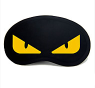 Travel Sleeping Eye Mask Type 0040 Yellow Devil Eyes