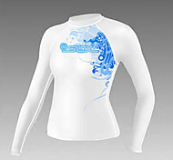 Others Men's Diving Suits Diving Suit Compression Wetsuits 2.5 to 2.9 mm White S Diving
