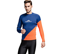 SBART Men's Diving Suits Diving Suit Compression Wetsuits 1.5 to 1.9 mm Blue M / L / XL / XXL / XXXL Diving
