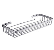 Aluminum Single Shelf Space Rectangular Basket Bathroom Pendant