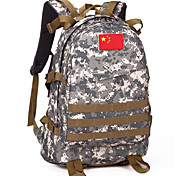 50 L Backpack Waterproof Army Green Nylon