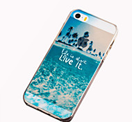 Palm Beach Pattern TPU Soft Case For iPhone 6s 6 Plus SE 5s 5