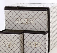Multi-Function Storage boxs for Cloth Jewlery Storage (Random Color)