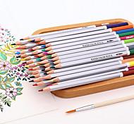 72Color Water-Soluble Colored Pencil Tin Secret Garden Graffiti Art Filled Pen Color Of Lead