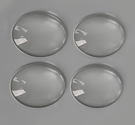 Beadia 10Pcs 30x40mm Flat Oval Clear Glass Cabochon For Earring Bracelet Necklace Jewelry Making