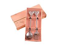 Creative Stainless Steel Tableware Suit Wedding Gift - Cartridge Finger Spork