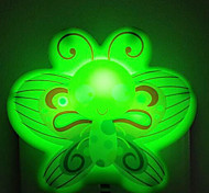 Butterflies Smart light Sensor LED Night Light Green