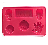 Marvel Cake Mold Silicone Soap Mould For Candy Chocolate Pudding Bakeware