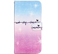 Body Wallet shock Flip color gradient Wallet Cover For Samsung Galaxy Note 5 Edge Note 5