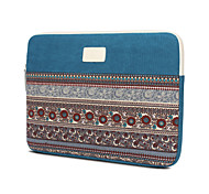 Retro Canvas Computer Bag Notebook Sleeve Case for Macbook Air  13.3,Macbook Pro with Retina 13.3/15.4