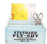 caixa de acabamento especial cosméticos da área de trabalho caixa de armazenamento armário de armazenamento de madeira criativo