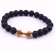Fashion Alloy Bead Bracelet Women Men Strand Bracelets Wedding / Party / Daily / Casual / Sports 1pc
