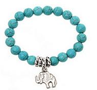 Green turquoise Strand Bracelet