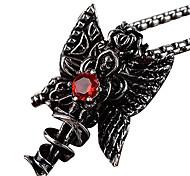 The Titanium Necklace Pendant Card Islamic - Red