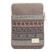 13.3 14.1 15.4 inch Retro Canvas Vertical Section Notebook Sleeve Case for Macbook,Surface,HP,Dell,Samsung,Sony,Etc
