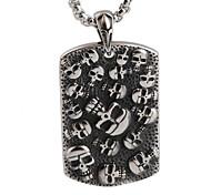 марочные ожерелье титана черепа мужчина мужчина