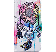 Dreamcatcher Pattern Card Phone Holster for Samsung Galaxy G530/J3/J5/J510