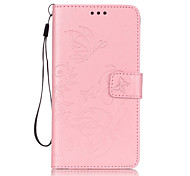 PU Leather Material Butterflies Embossed Phone Case for Samsung Galaxy J7(2016)/J7/J5(2016)/J5/J3/G360/G530/J1