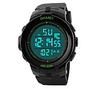 Outdoor Sports Diving Swimming Waterproof Multi-function LED Electronic Strip Men's Watches