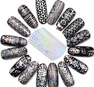 Nail Art наклейки ногтей Полностью накладные ногти / Стразы для ногтей
