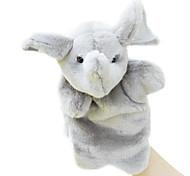 Hand Puppet Toy Elephant Child Finger Doll Cartoon Animal Plush