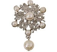 coreano moda perla weome bouquet da sposa spilla di nozze