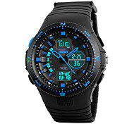 Skmei® Men's Outdoor Sports Quartz Digital Multifunction Wrist Watch 30m Waterproof Assorted Colors