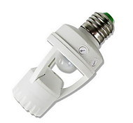 Infrared Sensor LED Bulb Holder E27LED Sensor Switch Bulb Holder