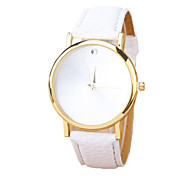 Fashion Quartz Casual Round Alloy Dial Unisex's Simple Wrist Watches Cool Watches Unique Watches