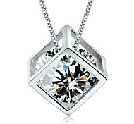 Necklace Pendants Jewelry Silver Daily / Casual Silver 1pc Gift