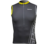 SPAKCT® Cycling Vest Men's Sleeveless Bike Breathable / Antistatic / Reflective Strips Tops Spandex Classic / SportsSpring / Summer /
