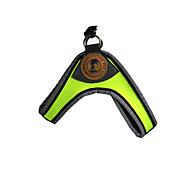 Cat / Dog Collar / Harness / Leash Reflective / Adjustable/Retractable / Fashion / Soft Green / Orange / Coffee Sponge