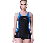 SBART Women's Swimwear Diving Suit Compression Wetsuits 1.5 to 1.9 mm Pink / Blue XL / XXL / XXXL / XXXXL Swimming
