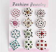 New Fashion Colorful Flower Shape Brooches for Wedding