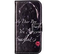 Flip cartoon Lipstik Girls PU leather wallet cover S7 edge / S7/ S6 edge plus / S6 edge /S6