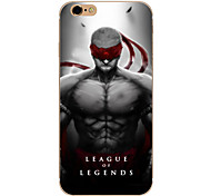 So Cool Ultra-thin Other TPU Soft League of Legends,So Cool Case Cover For  IPhone 5/6/6s/6plus/6s plus CFYX04