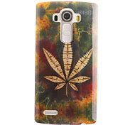 Leaf Painting Pattern TPU Soft Case for LG G4/G4Mini/G4C/G3Mini/G3