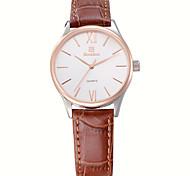 Bestdon® Lady/Women's Business Fashion Vintage Leather Belt Japanese Quartz Water Resistant Wristwatch