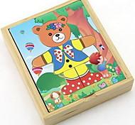 Little Bear Dress Educational Toy