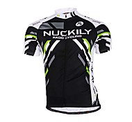 Sports Bike/Cycling Jersey + Shorts / Tops / Bottoms Men's Long Sleeve Breathable / Sweat-wicking Terylene / Tactel / Chinlon Slim Bisque