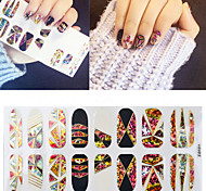 Nail  Cellophane  Decorative Nail Stickers