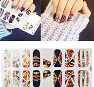 Nail  Cellophane  Decorative Nail Stickers