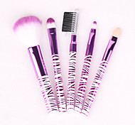 5 Sets Of Brush Beauty Plastic Box Makeup Brush